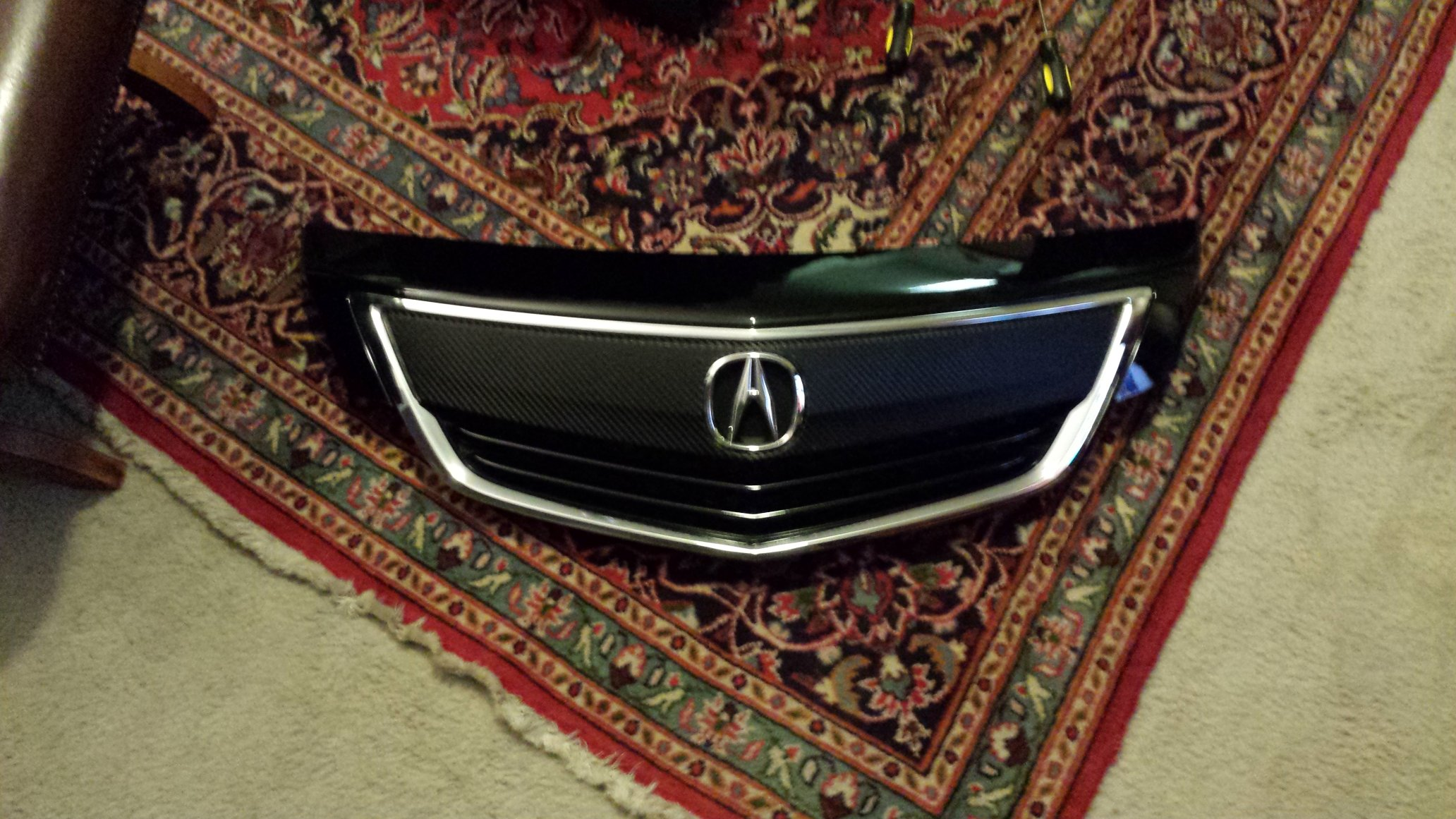Remove The Front Grill Or Beak On TL AcuraZine Acura - Acura mdx front grill