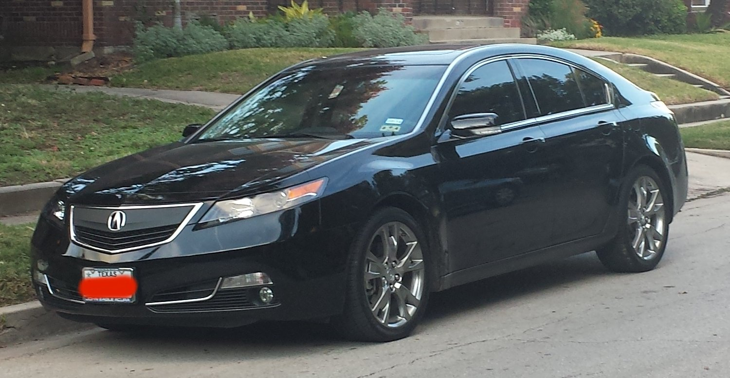 Acura Tl Sh Awd >> Remove the front Grill or Beak on 2013 TL - AcuraZine ...