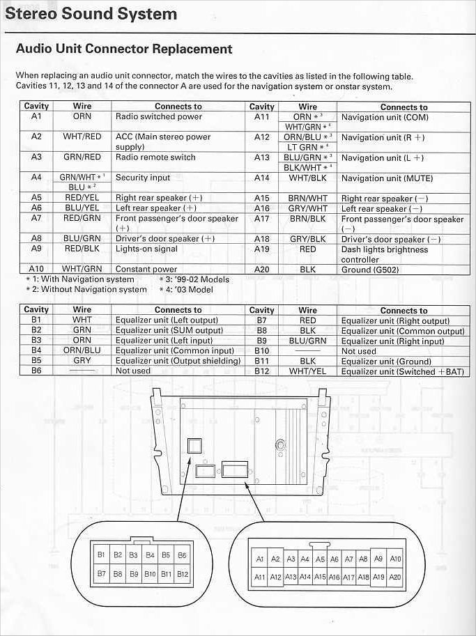 wiringdiagram aftermarket stereo head unit replace bose? acurazine acura GE 300 Line Control Wiring Diagram at mifinder.co